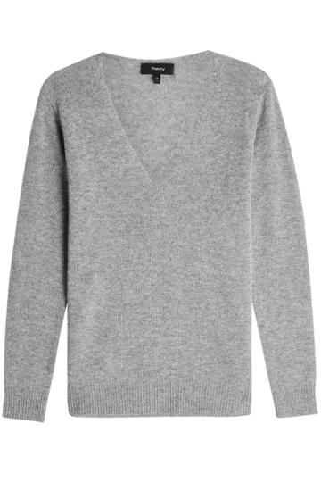 Theory Theory Adrianna Cashmere Pullover