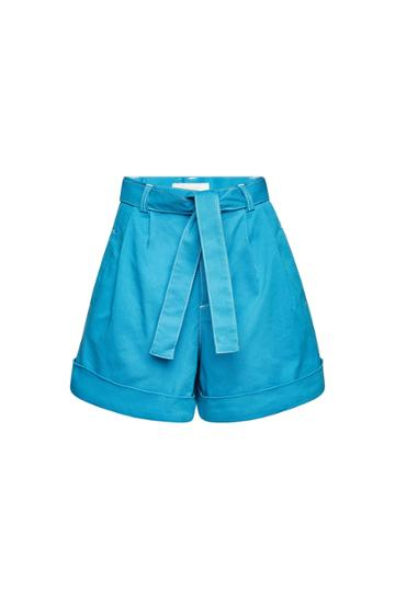 See By Chloé See By Chloé High-waisted Shorts With Tie