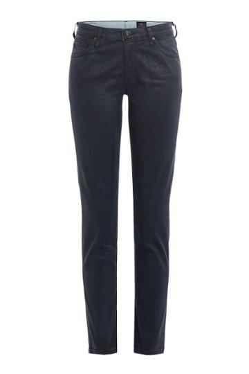 Adriano Goldschmied Adriano Goldschmied The Legging Ankle Coated Skinny Jeans - Black