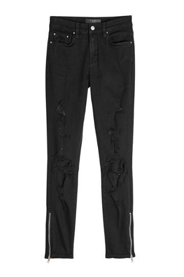 Amiri Amiri Thrasher Distressed Skinny Jeans