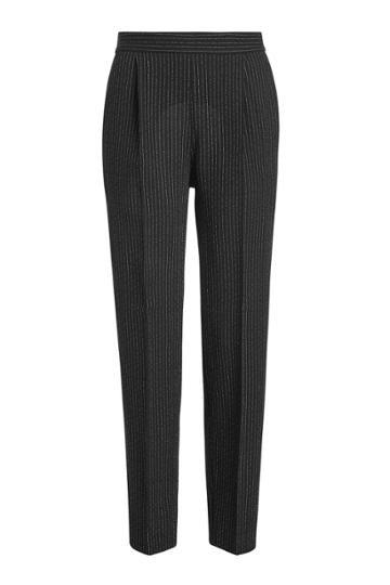 Boutique Moschino Boutique Moschino Pinstriped Virgin Wool Pants