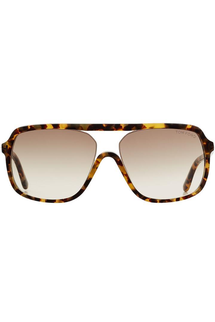 Tom Ford Tom Ford Oversize Aviator Sunglasses
