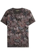 Valentino Valentino Butterfly Printed Cotton T-shirt