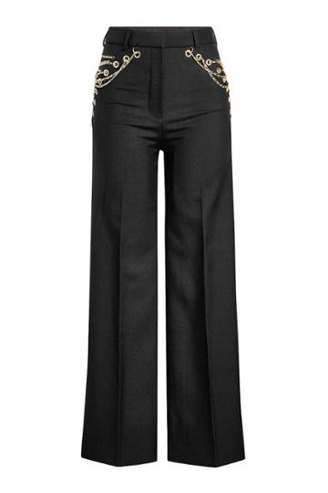 Y/project Y/project Embellished Wool Pants