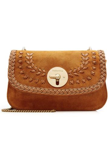 See By Chlo See By Chlo Suede Shoulder Bag