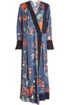 Diane Von Furstenberg Diane Von Furstenberg Printed Silk-blend Dress