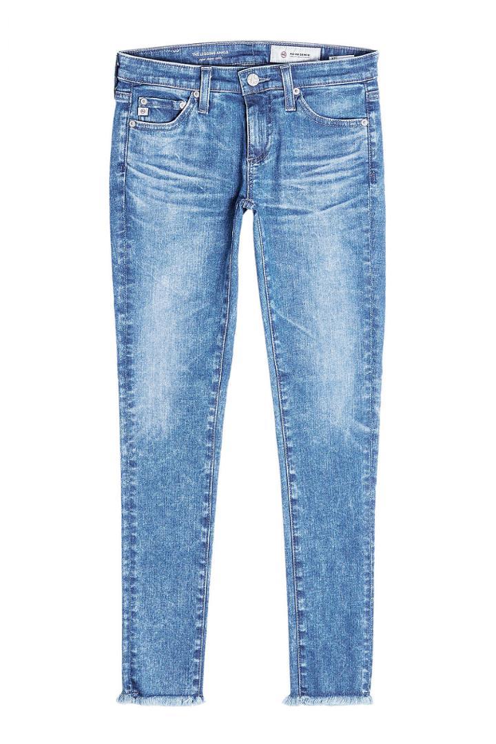 Adriano Goldschmied Adriano Goldschmied Distressed Skinny Jeans - Blue