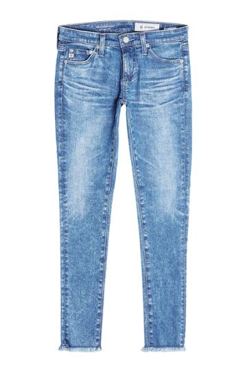 Adriano Goldschmied Adriano Goldschmied Distressed Skinny Jeans - Blue
