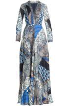 Etro Printed Silk Jersey Maxi Dress