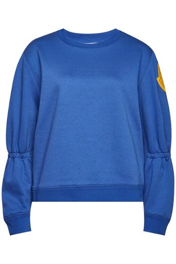 Moncler Moncler Cotton Sweatshirt With Bell Sleeves