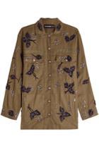 The Kooples The Kooples Embellished Cotton Jacket