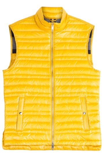 Burberry Brit Burberry Brit Down Vest - Yellow