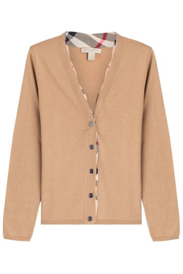 Burberry Brit Burberry Brit Wool Cardigan - Camel