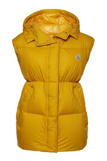 Moncler Moncler Cheveche Down Vest With Hood