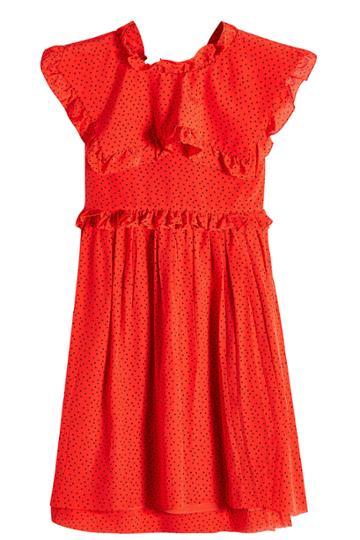 Balenciaga Balenciaga Printed Silk Chiffon Mini Dress