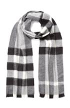 Burberry Shoes & Accessories Check Cashmere Scarf