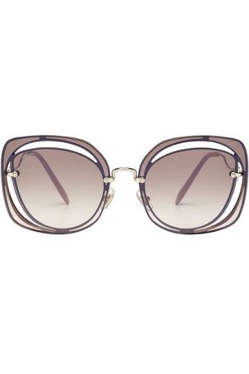 Miu Miu Miu Miu Statement Sunglasses