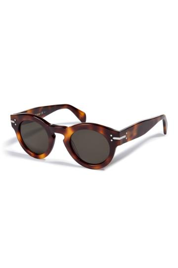 Céline Eyewear Céline Eyewear Teddy Sunglasses In Havana - None