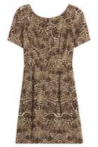 The Kooples The Kooples Silk Leopard Print Dress - None