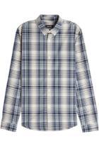 A.p.c. A.p.c. Checked Cotton Shirt