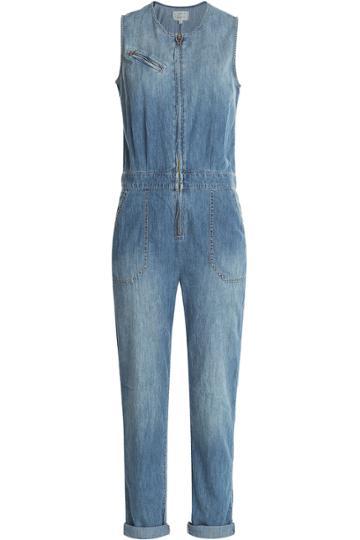 Current/elliott Current/elliott Denim Jumpsuit - Blue