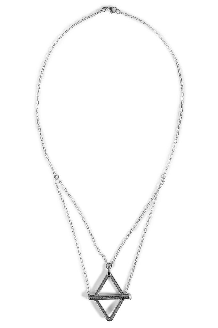 Pamela Love Pamela Love Balance Necklace - Silver