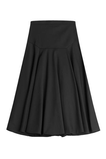 Vionnet Vionnet Flared Cotton Skirt