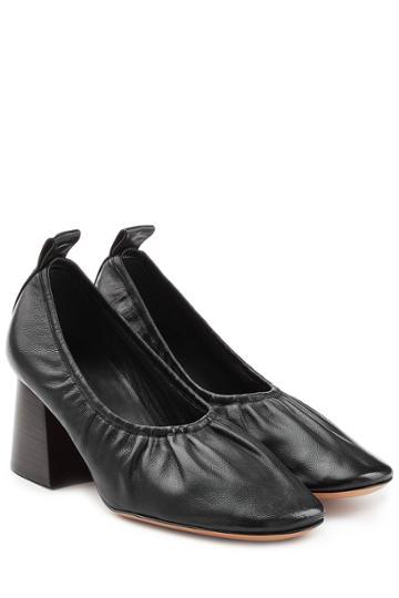 Céline Céline Leather Pumps - Black