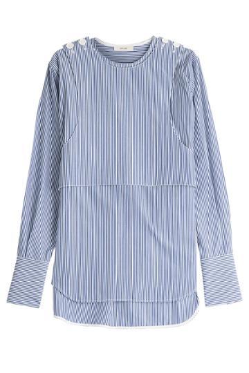 Céline Céline Striped Cotton Blouse - Stripes