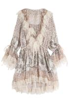 Etro Etro Printed Silk Dress With Lace