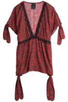 Anna Sui Anna Sui Printed Tunic Top