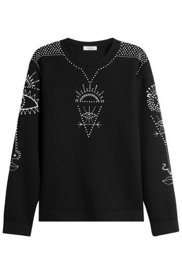 Valentino Valentino Embellished Sweatshirt