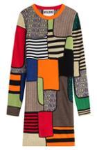 Moschino Colorblock Wool Dress