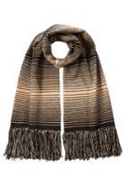 Missoni Missoni Wool Striped Knit Scarf - Multicolor