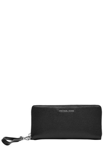 Michael Michael Kors Michael Michael Kors Leather Zip Around Wallet