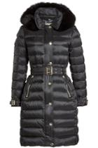 Burberry Burberry Down Coat With Fur-trimmed Hood