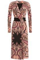 Etro Etro Stretch Jersey Printed Dress - Multicolor