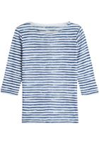 Majestic Majestic Striped Linen Top