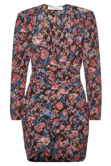 Iro Iro Fling Floral Silk Dress