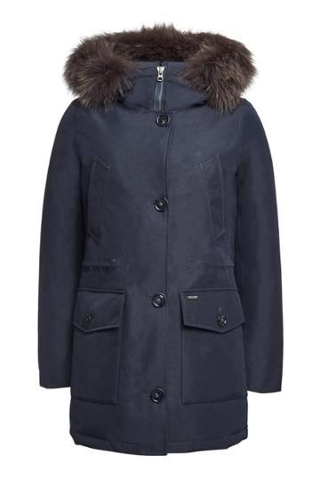 Woolrich Woolrich Gtx Arctic Down Parka With Fur-trimmed Hood