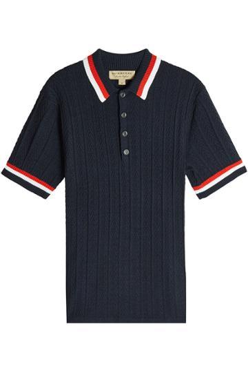 Burberry Burberry Wool Polo Shirt