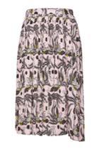 Kenzo Kenzo Printed Pleated Skirt