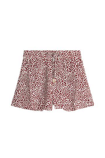 Anine Bing Anine Bing Printed Silk Ashley Shorts