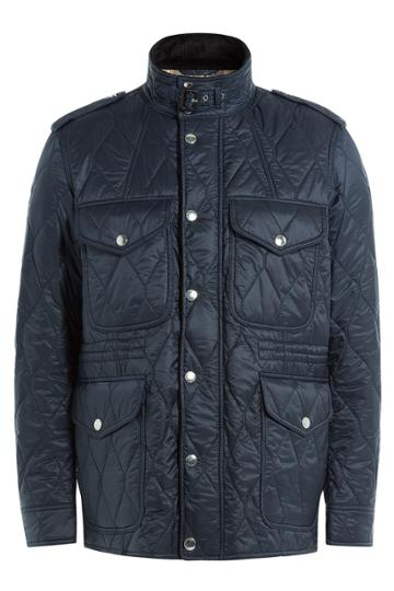Burberry Brit Burberry Brit Quilted Jacket - Blue