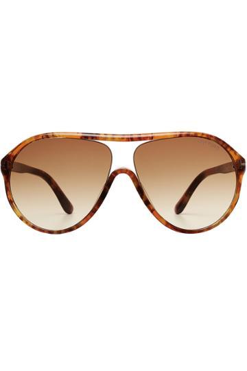 Tom Ford Tom Ford Edison Oversized Sunglasses