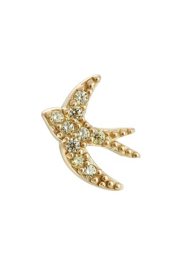 Marc Jacobs Marc Jacobs Embellished Swallow Stud Earring