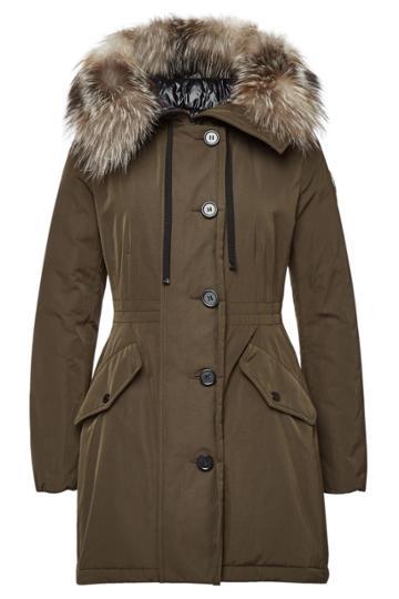 Moncler Moncler Monticole Down Parka With Fur-trimmed Hood