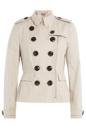 Burberry Brit Burberry Brit Trench Jacket - Beige