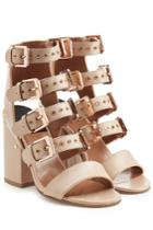 Laurence Dacade Laurence Dacade Leather Sandals - Rose