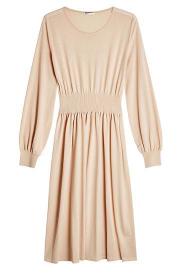Agnona Agnona Wool Dress - Beige